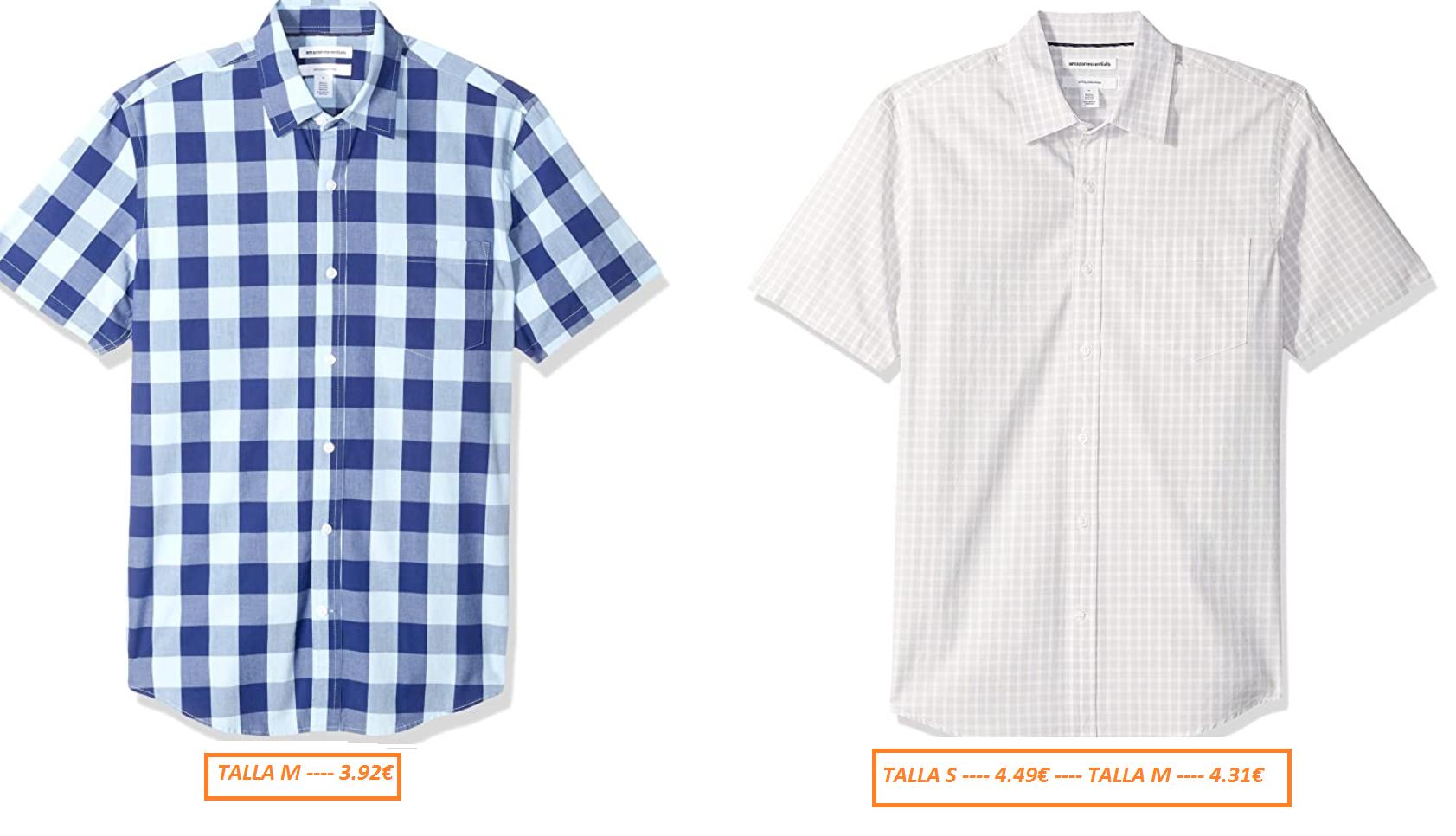Amazon Essentials - Camisa para Hombre (Desde 3.92€)