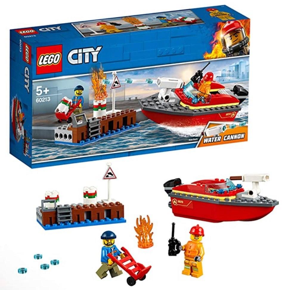 LEGO City Fire - llamas en el muelle 60213