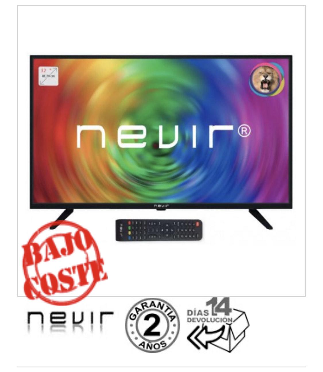 Televisor Nevir NVR-7707-32RD2-N HD Ready SLIM Negro