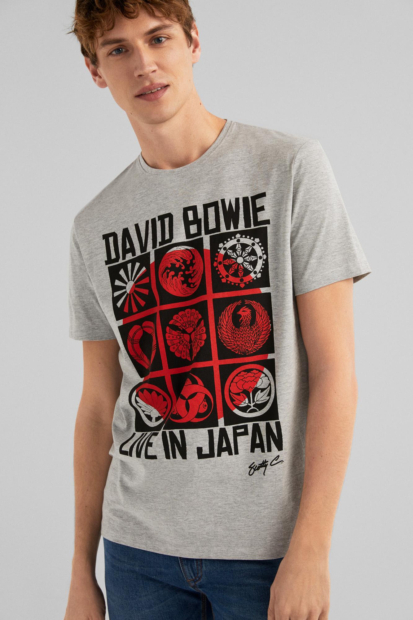 Camisetaza de Bowie Live in Japan a precio de risa