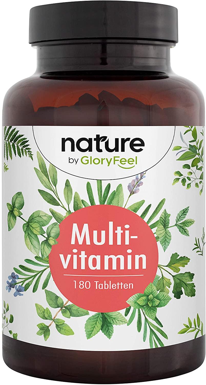 Multivitaminas 180 Tabletas [Complejo vitamínico premium]