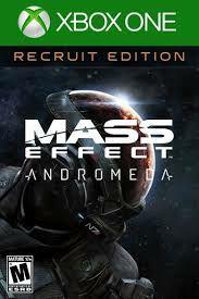 (XBOX ONE) Edición de recluta estándar de Mass Effect™: Andromeda