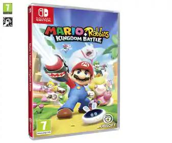 MARIO+RABBIDS KINGDOM BATTLE. Nintendo Switch (Alcampo Vallecas)