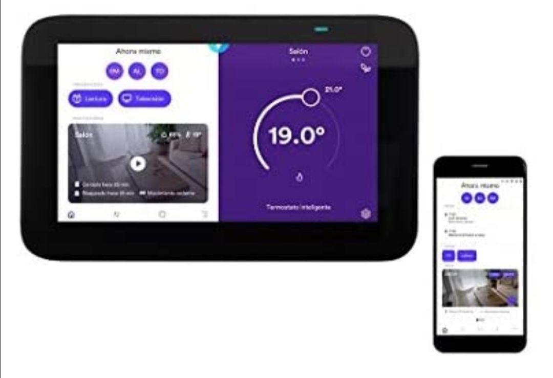 Homix Smart Home Hub y Termostato inteligente con Alexa integrada para hogar conectado y domótica