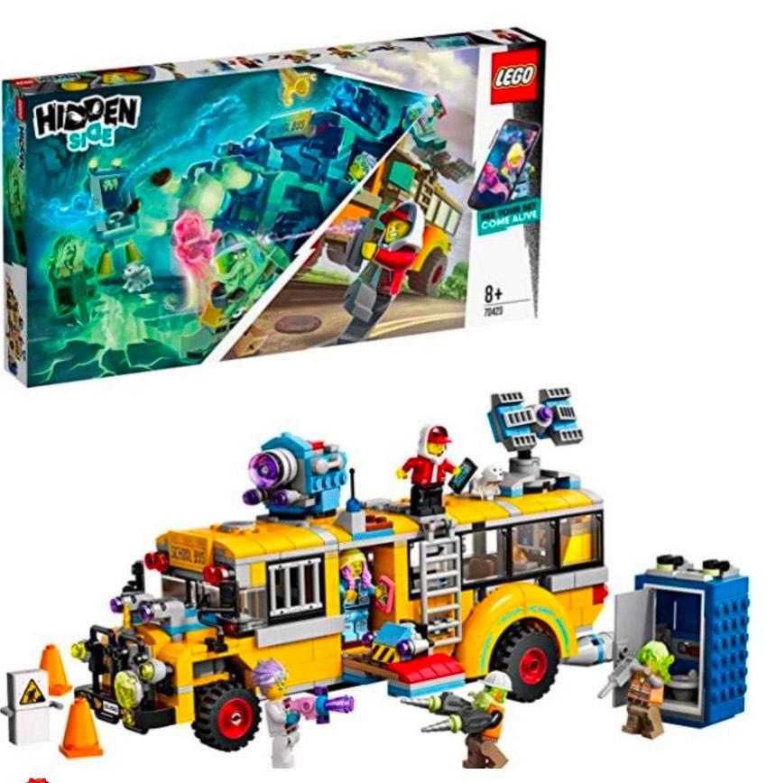 LEGO - Hidden Side Autobús de Intercepción