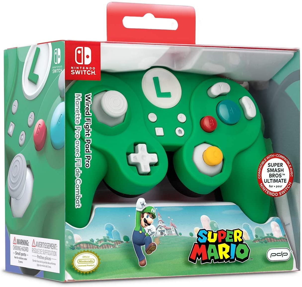 Mando Battle Pad Super Mario - Luigi Nintendo Switch