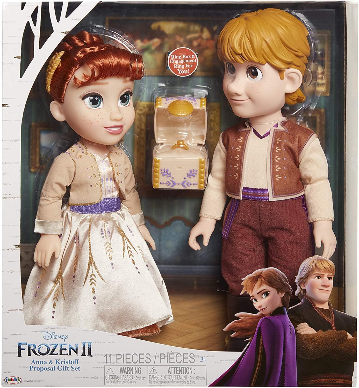 Muñecos infantiles Frozen 2 Anna & Kristoff