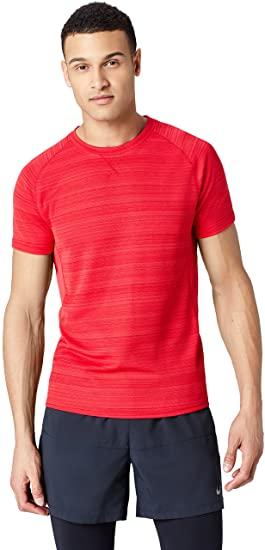 Marca Amazon - find. Camiseta Deporte Básica Hombre