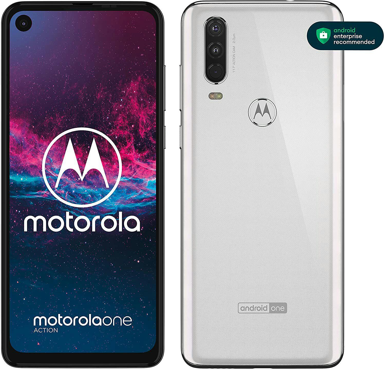 Motorola One Action XT2013 Dual Sim 128GB (4GB Ram)(Libre) - Blanco