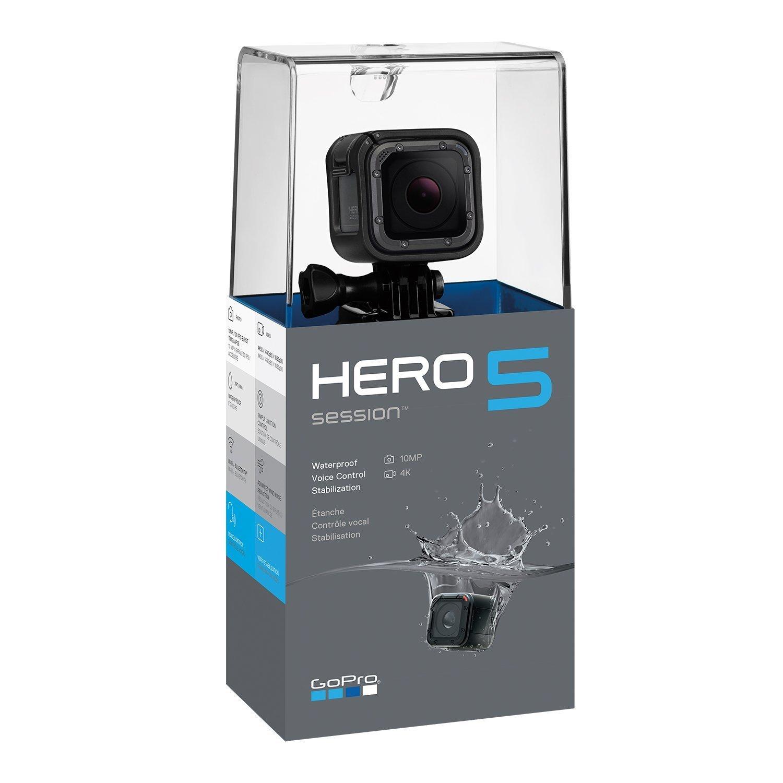 Cámara de sesión GoPro HERO5 Session negra