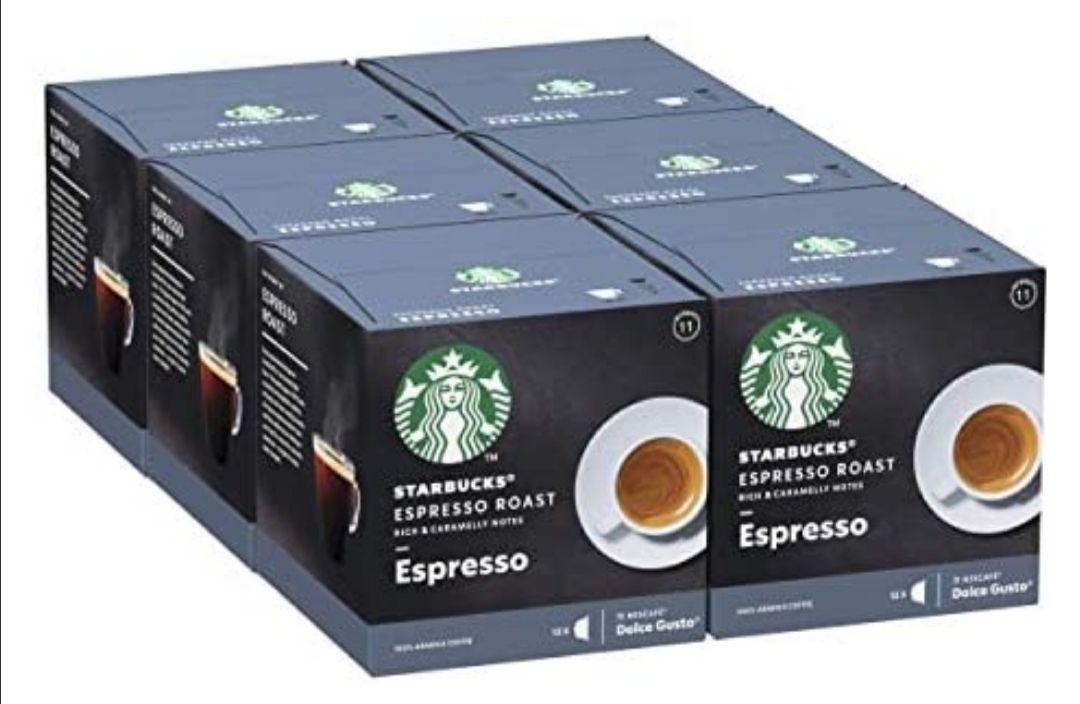 Nescafe Dolce Gusto Cápsulas De Café De Tostado Intenso, 6 X Caja De 12Unidades ( al tramitar)