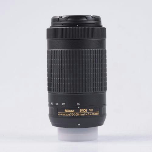 Nikon AF-P DX NIKKOR 70-300mm f/4.5-6.3G ED VR Objetivo (Caja Blanca)