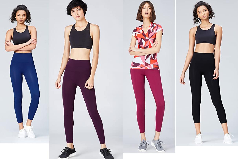 4 COLORES y VARIAS TALLAS - Activewear Mallas Deportivas para Mujer