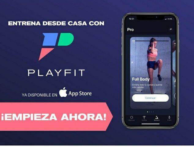 Prueba gratis 1 semana PlayFit y entrena desde casa