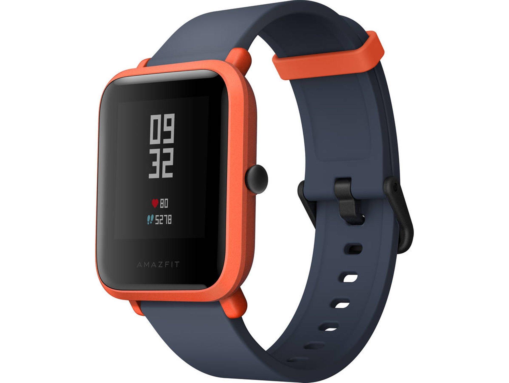 Smartwatch AMAZFIT Bip GPS Rojo - Worten