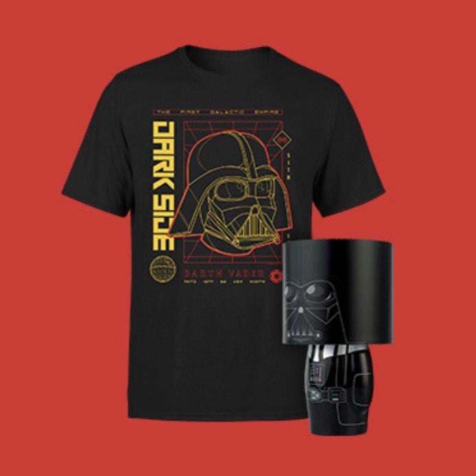 Camiseta + Lámpara: 16,99 € - Darth Vader