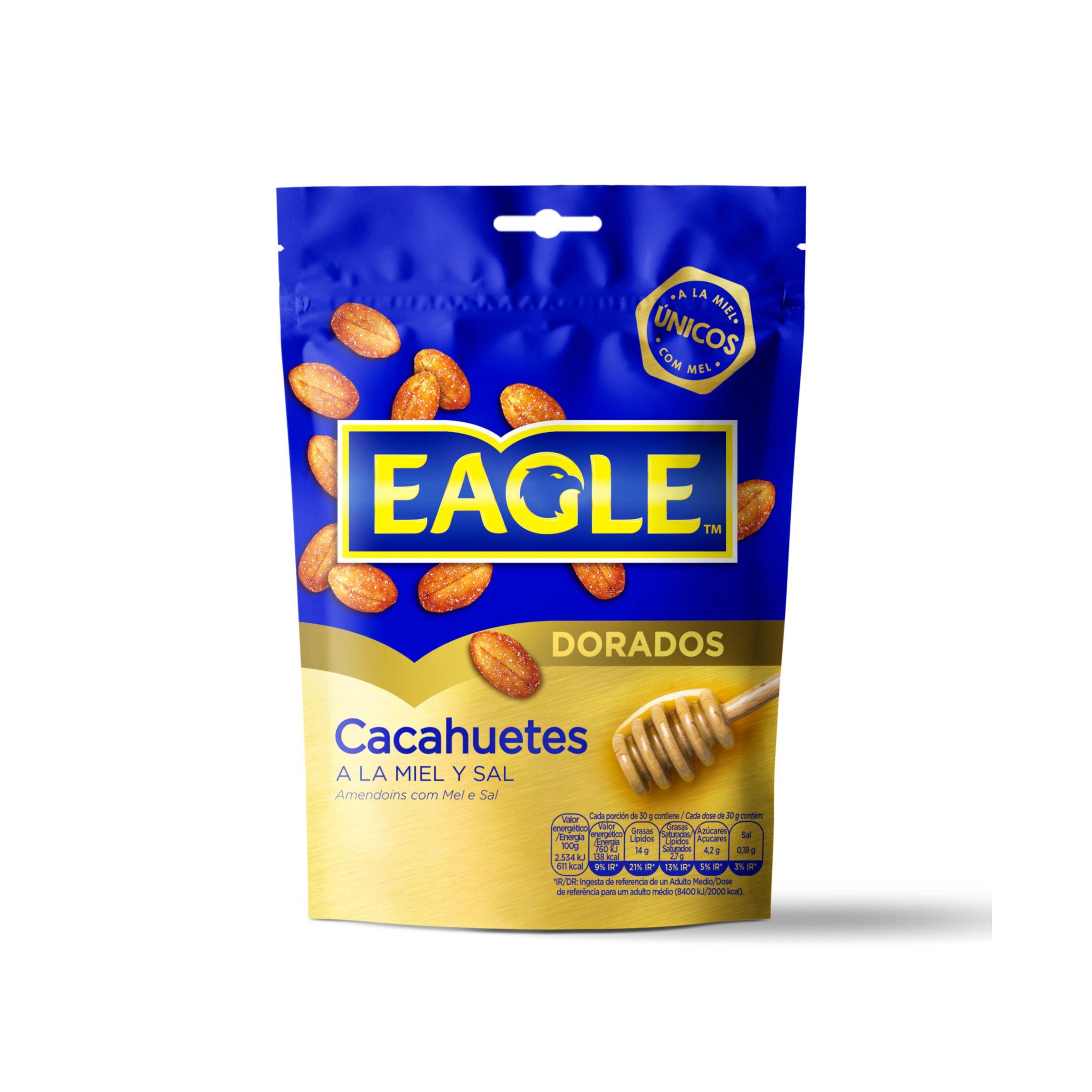 EAGLE cacahuete frito con miel y sal bolsa 75 gr