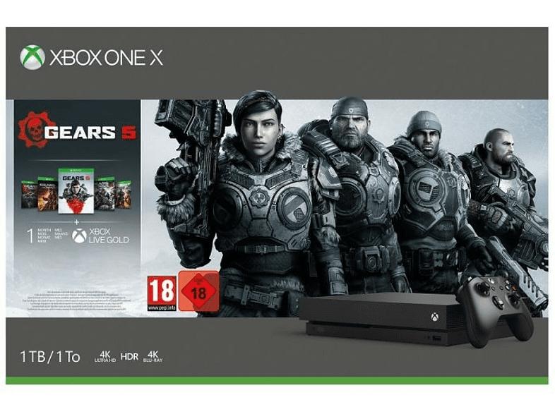 Xbox One X + Gears 5 por 289€