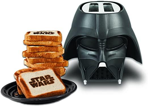 """NK Tostadora Darth Vader 2 rebanadas - Desayuna con """"La Fuerza"""""""