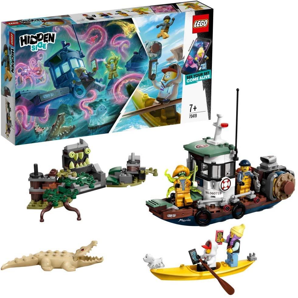 LEGO Camaronero Encallado Juguete de construcción con realidad aumentada