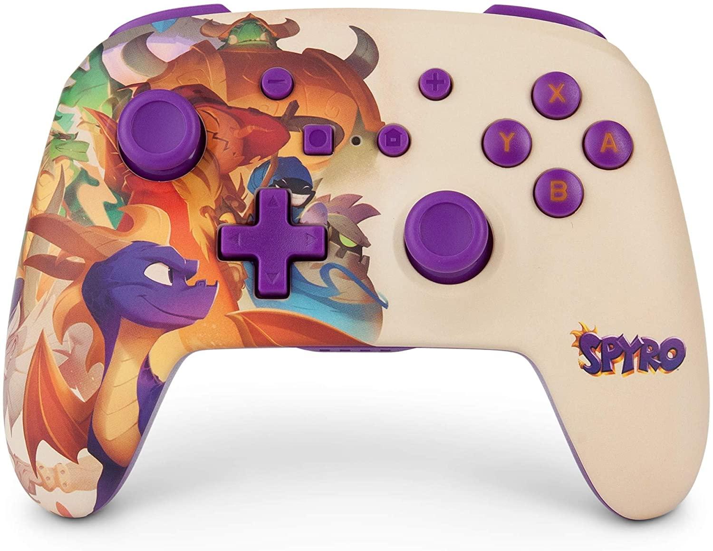 Mando inalámbrico mejorado Spyro para Nintendo Switch