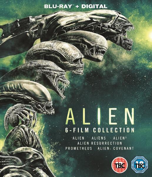 ALIEN BLU-RAY (Boxset de 6 películas)