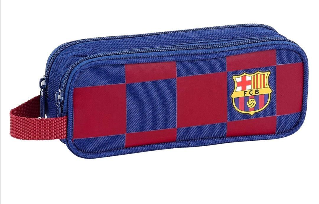 FCB FC Barcelona Equipaje, Niños Unisex, Azul Marino, 21x8x6