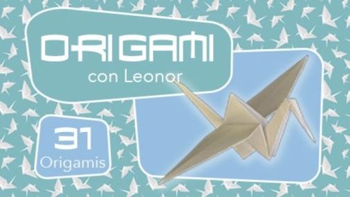 Curso de Origami en español, 31 figuras diferentes con papel