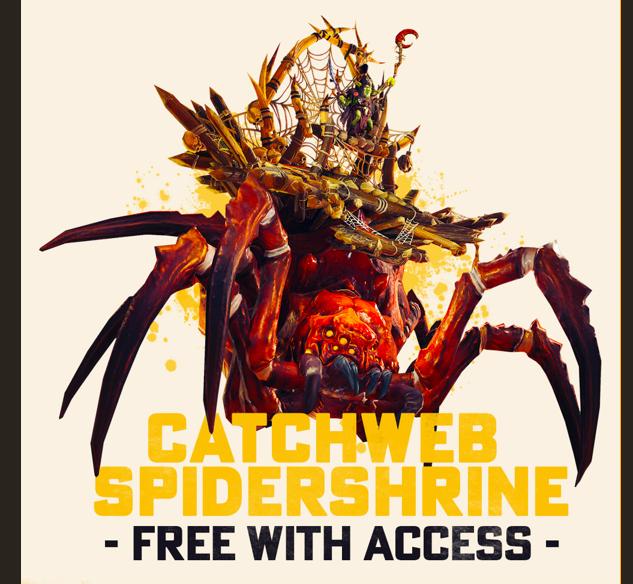 Montura gratis para Gran chaman globlin - Total War Warhammer II
