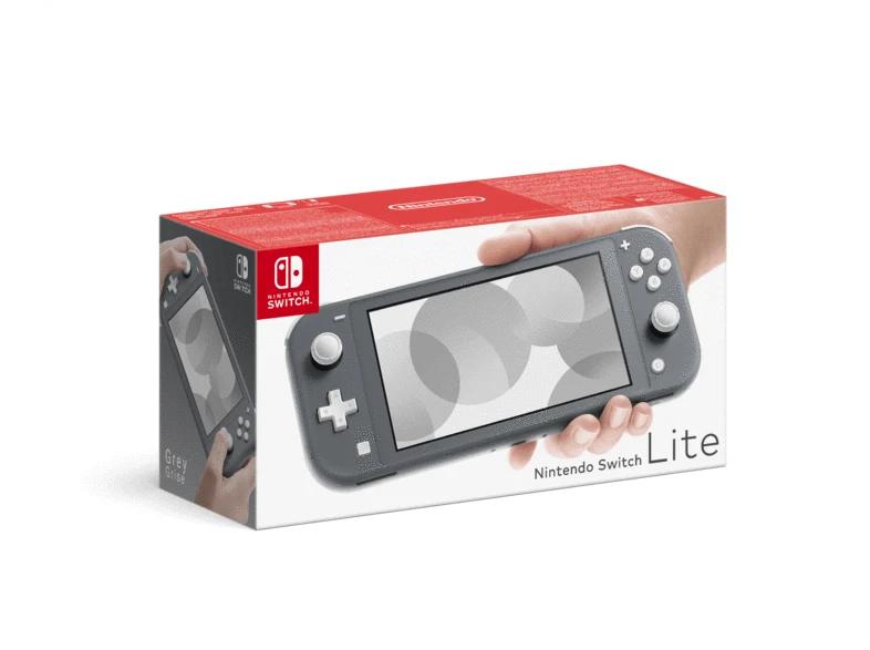 Nintendo Switch Lite Color Gris En MediaMarkt Canarias