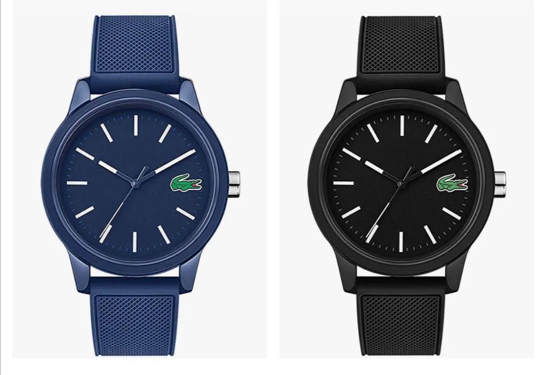 Lacoste Reloj Analógico para Hombre de Cuarzo con Correa en Silicona (en 3 colores)