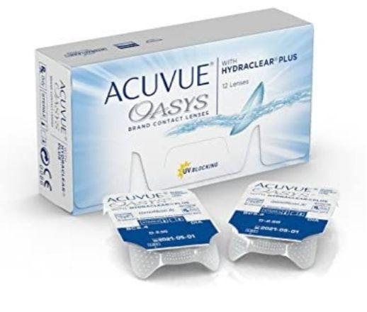 Acuvue Oasys for Astigmatism Lentes de Contacto Tóricas