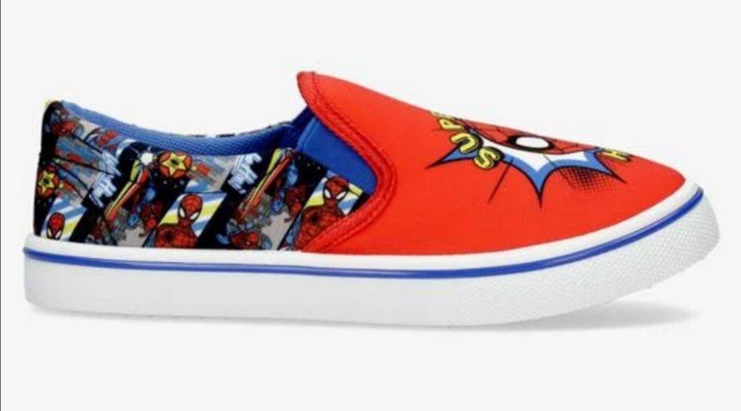 Zapatillas Lona Spiderman y capitán América