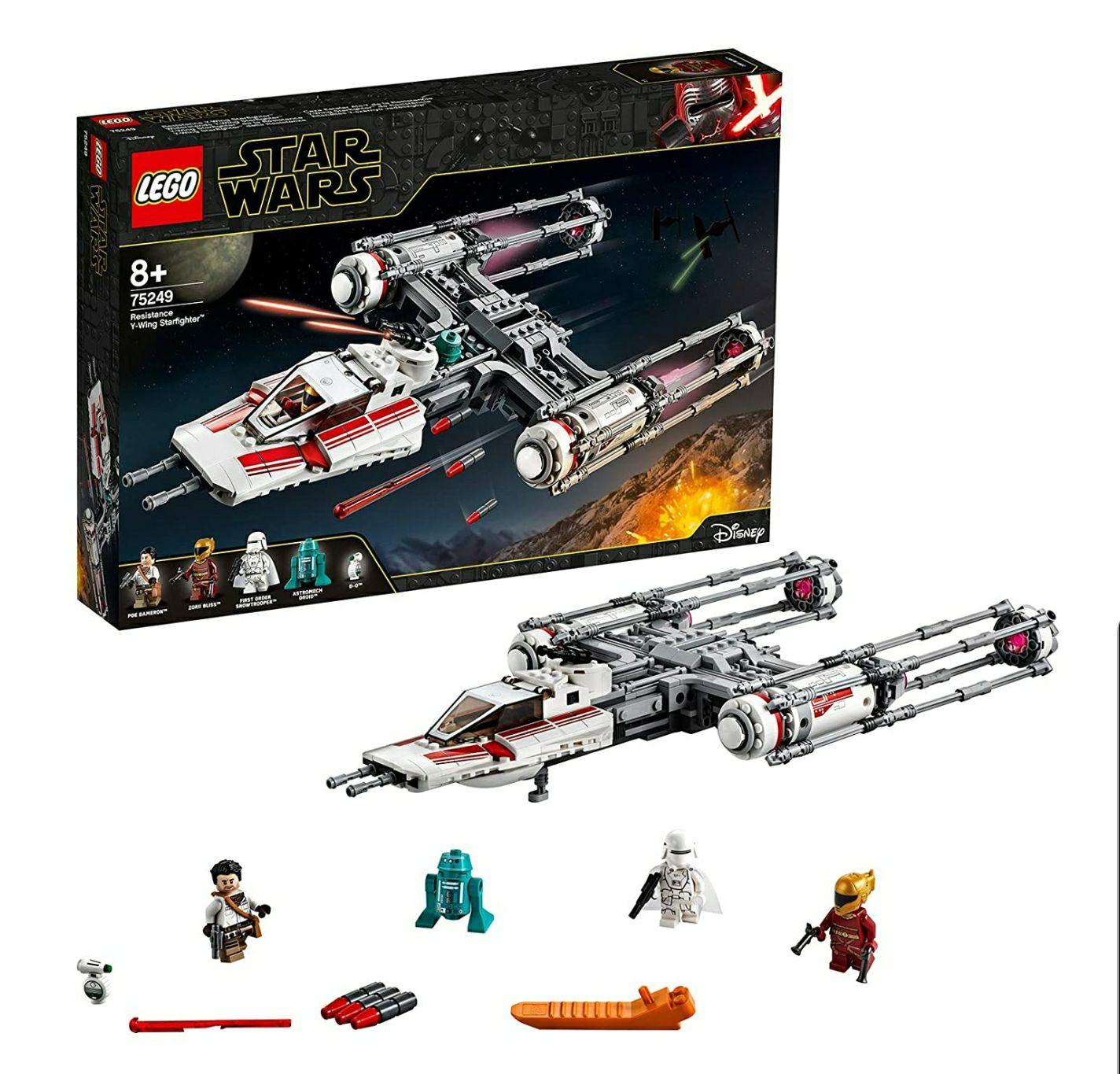 LEGO Star Wars TM - Caza Estelar Ala-Y de la Resistencia