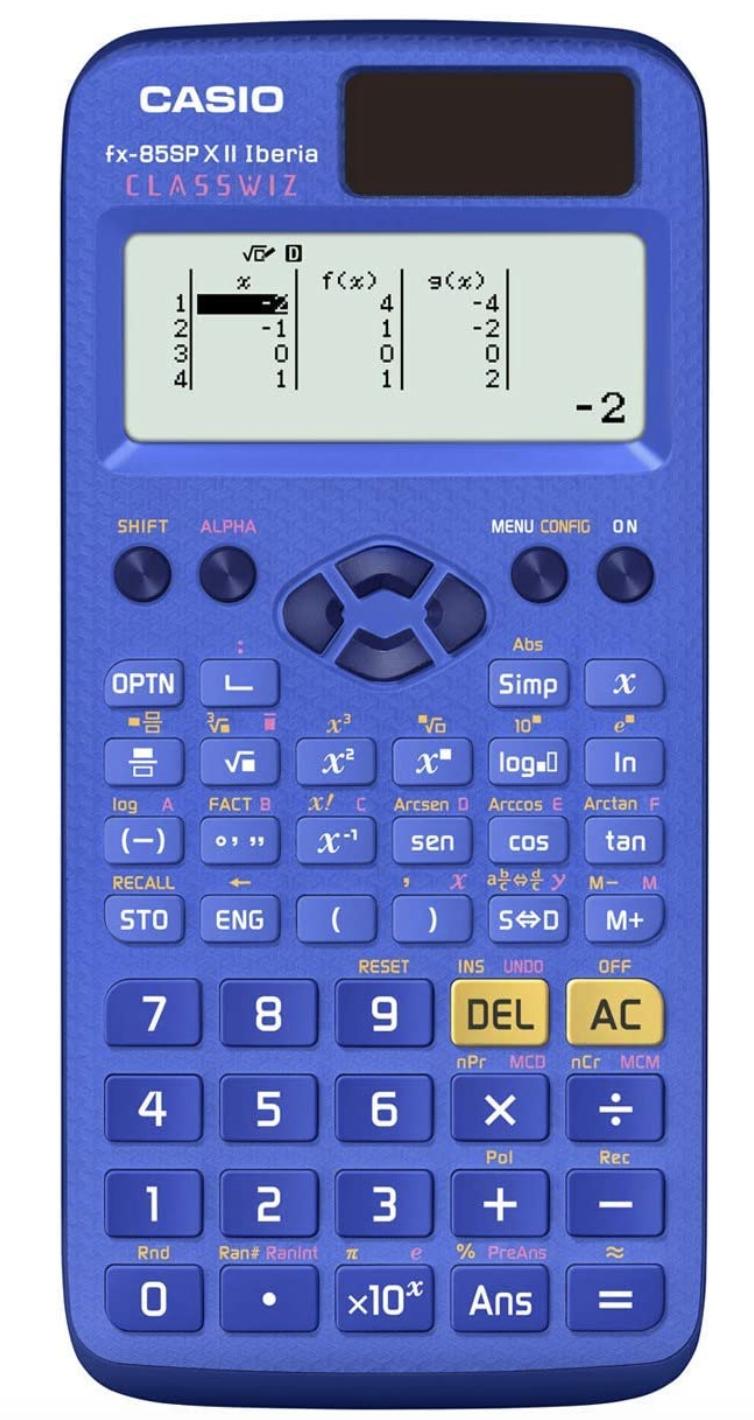 Calculadora Casio FX-85SP X II - Color Azul