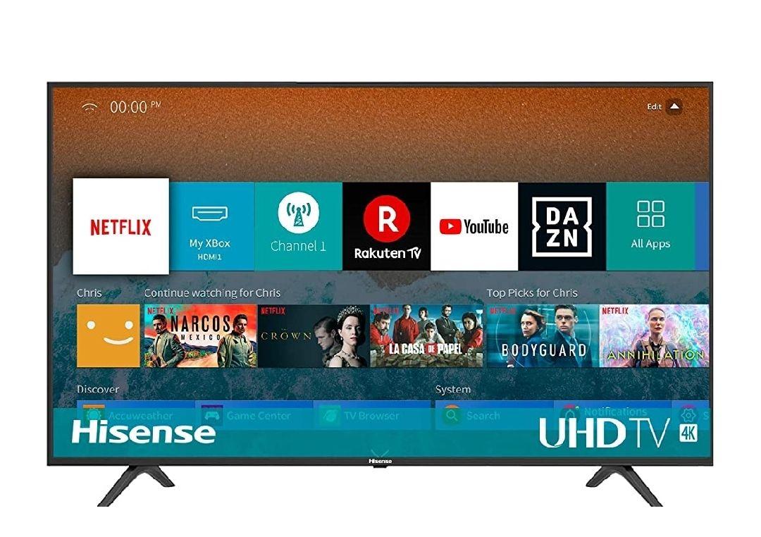 Hisense H50BE7000 - Smart TV 50' 4K ultra HD con Alexa integrada