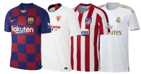 60% de descuento en camisetas de fútbol oficiales.
