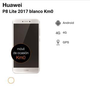 P8 lite 2017 Km0 negro-- Orange