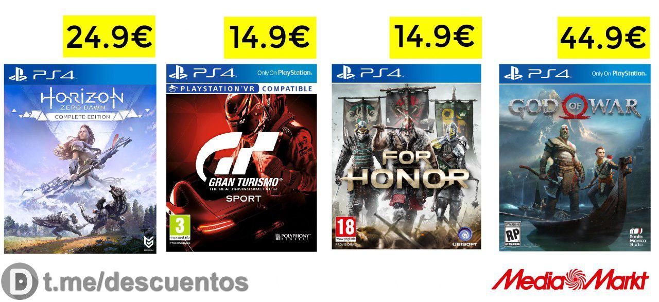 Descuentos del E3 en Xbox y PS4