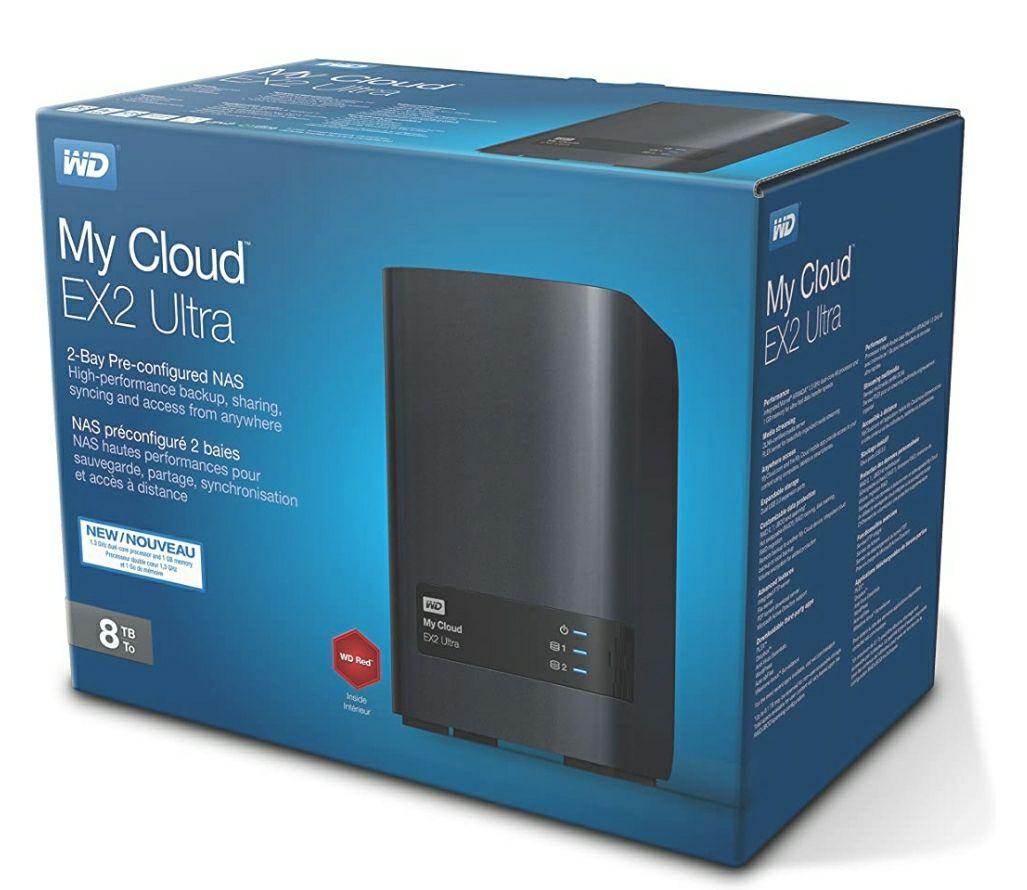 Western Digital Expert Series EX2 Ultra My Cloud 8TB (2X4TB) Reacondicionado (Como nuevo).