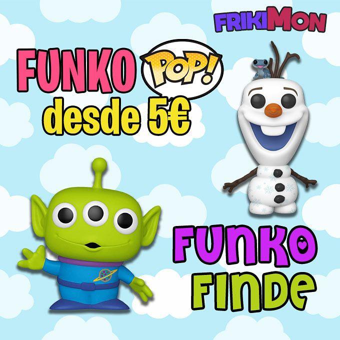 Más de 100 Funko POP con hasta 60% DTO