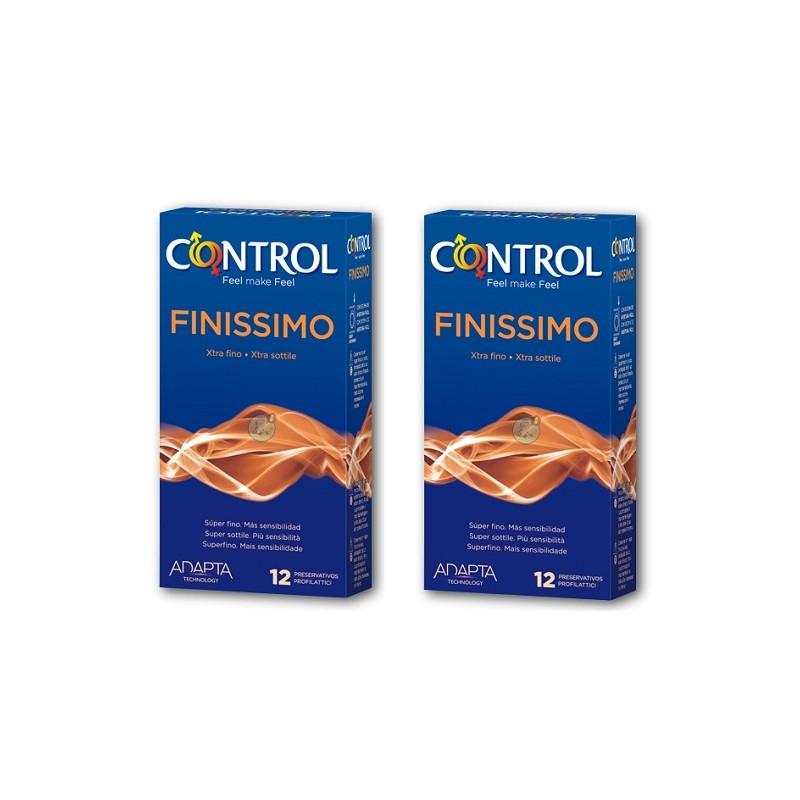 Control Pack Ahorro Finissimo Preservativos 2x12uds