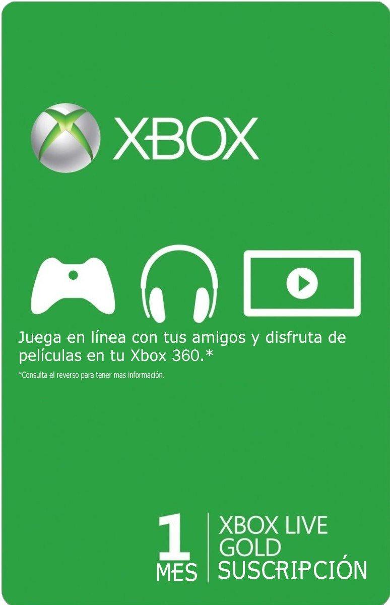 Xbox Gold o Game Pass 1 mes solo 1€
