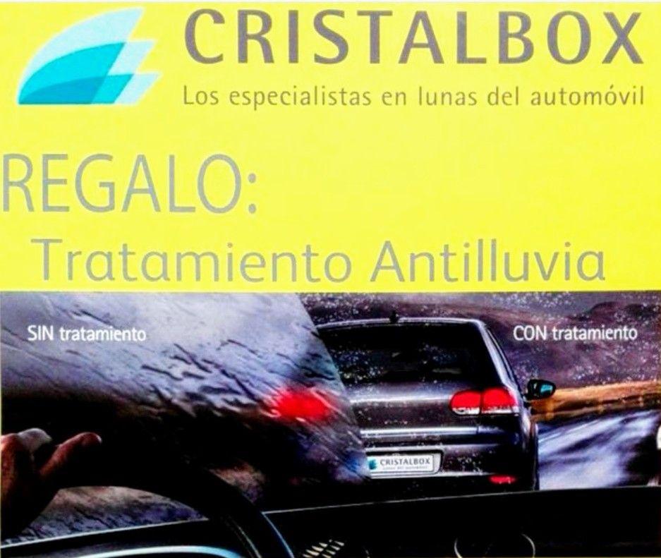GRATIS 2 tratamientos antilluvia con la App de Cristalbox.