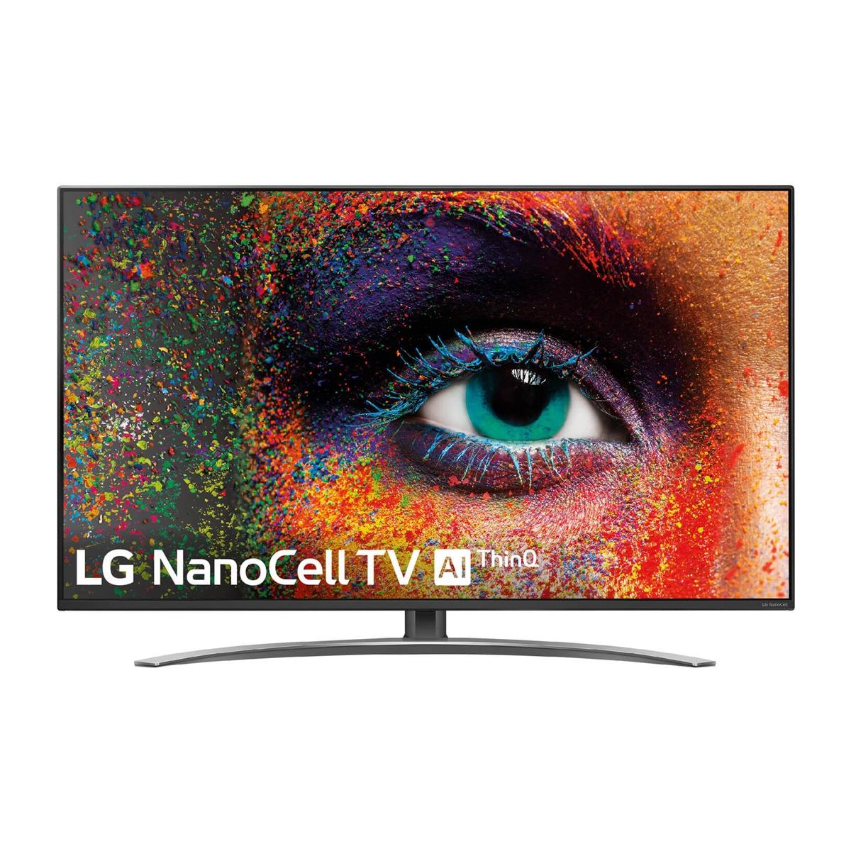 "TV LED 123 cm (49"") LG 49SM9000 NanoCell 4K, HDR Smart TV con Inteligencia Artificial (IA)"