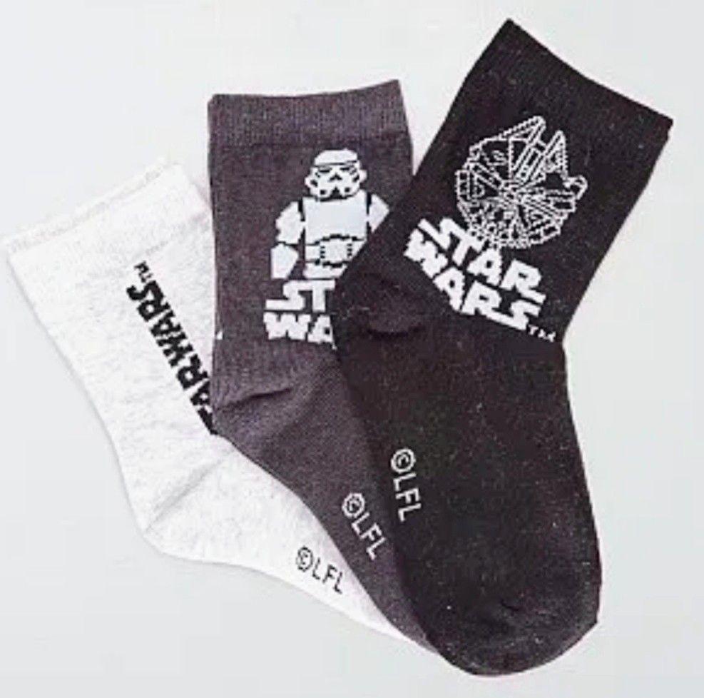 Pack de 3 pares de calcetines 'Star Wars'