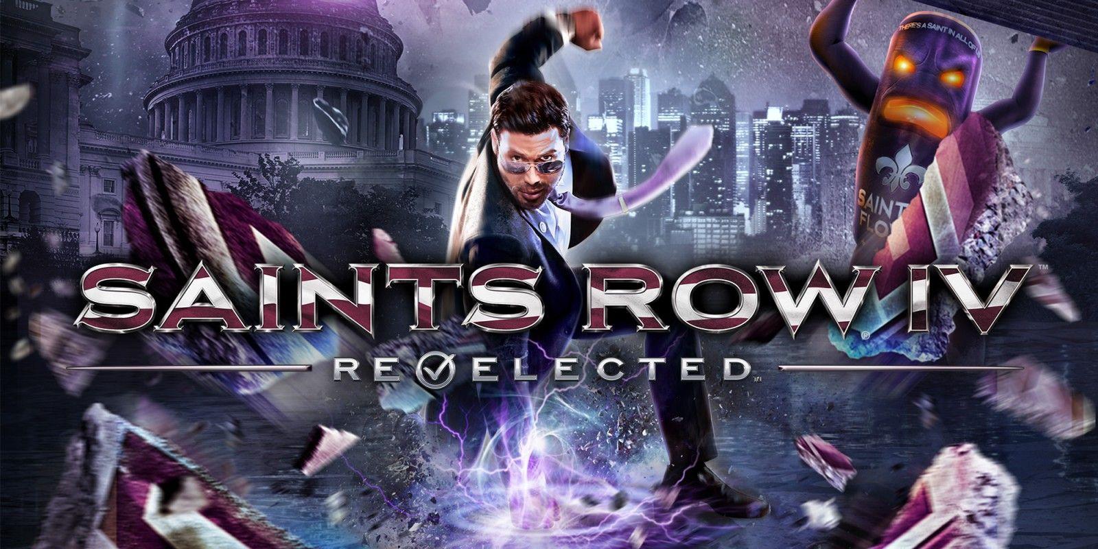 Saints Row IV: Re-Elected (Switch, eshop Rusia)