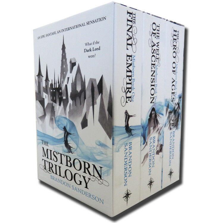 Mistborn Trilogy Boxed Set - Edición en ingles