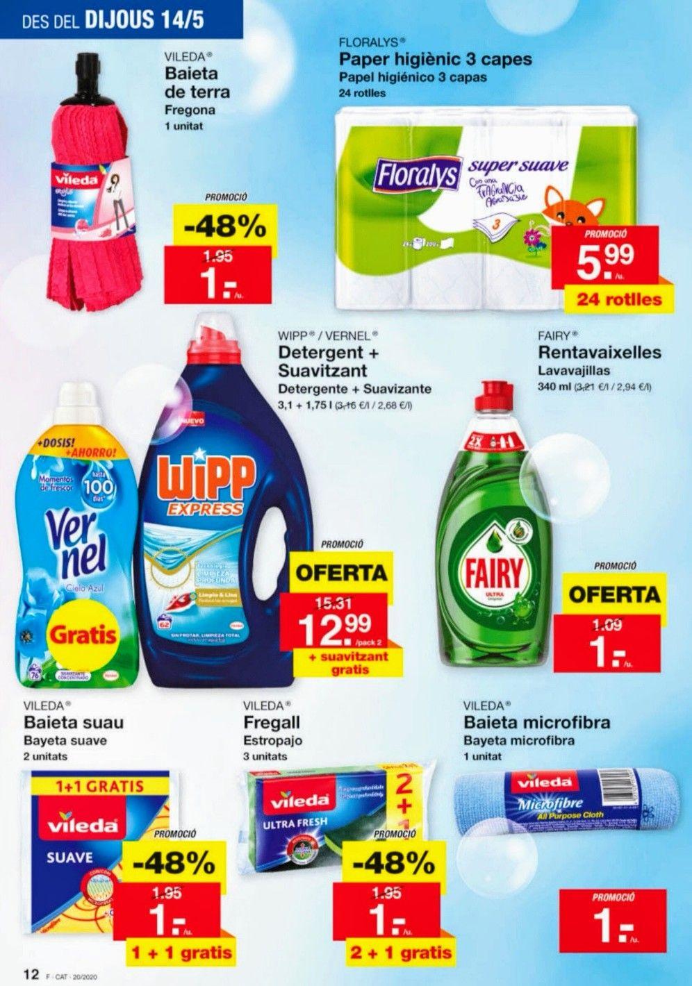 Productos de la marca VILEDA por 1€ en LIDL.(y más ofertas)