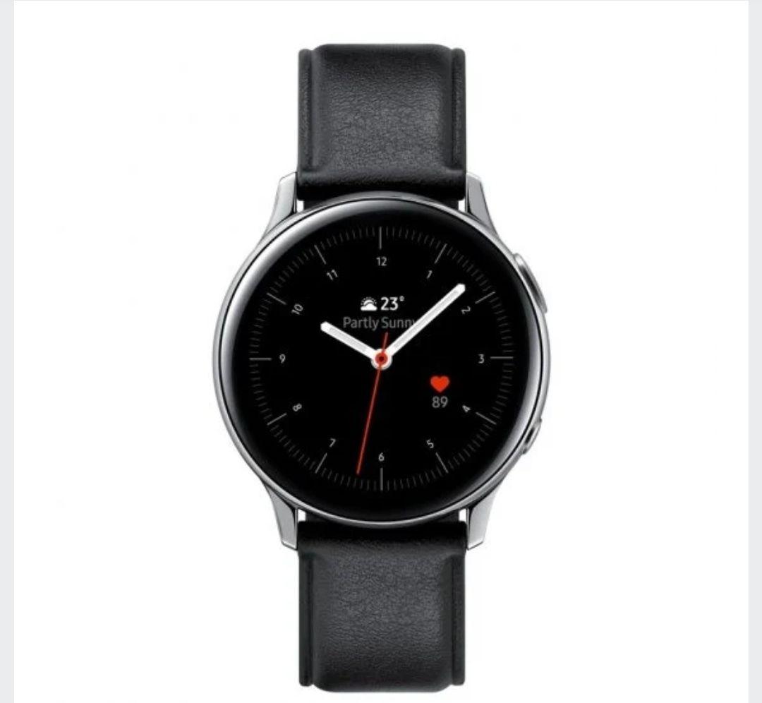Samsung Galaxy Watch Active2 Bluetooth 40mum Edición: Acero Plateado y Cuero